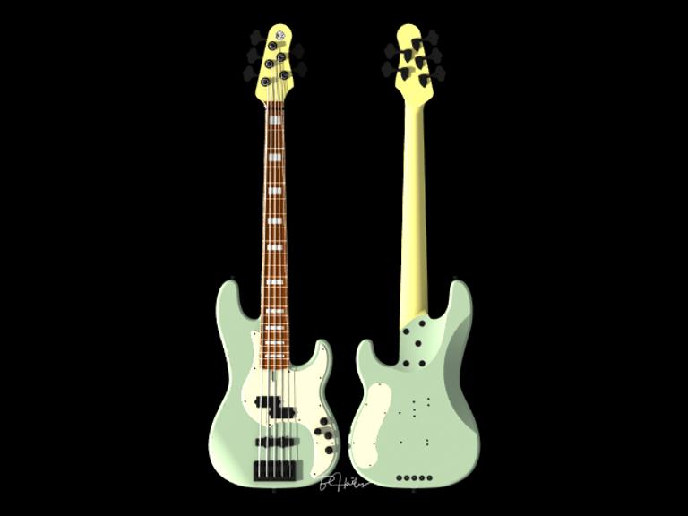 Bassworks, bass, Fender, Precision, Jazz, luthiery