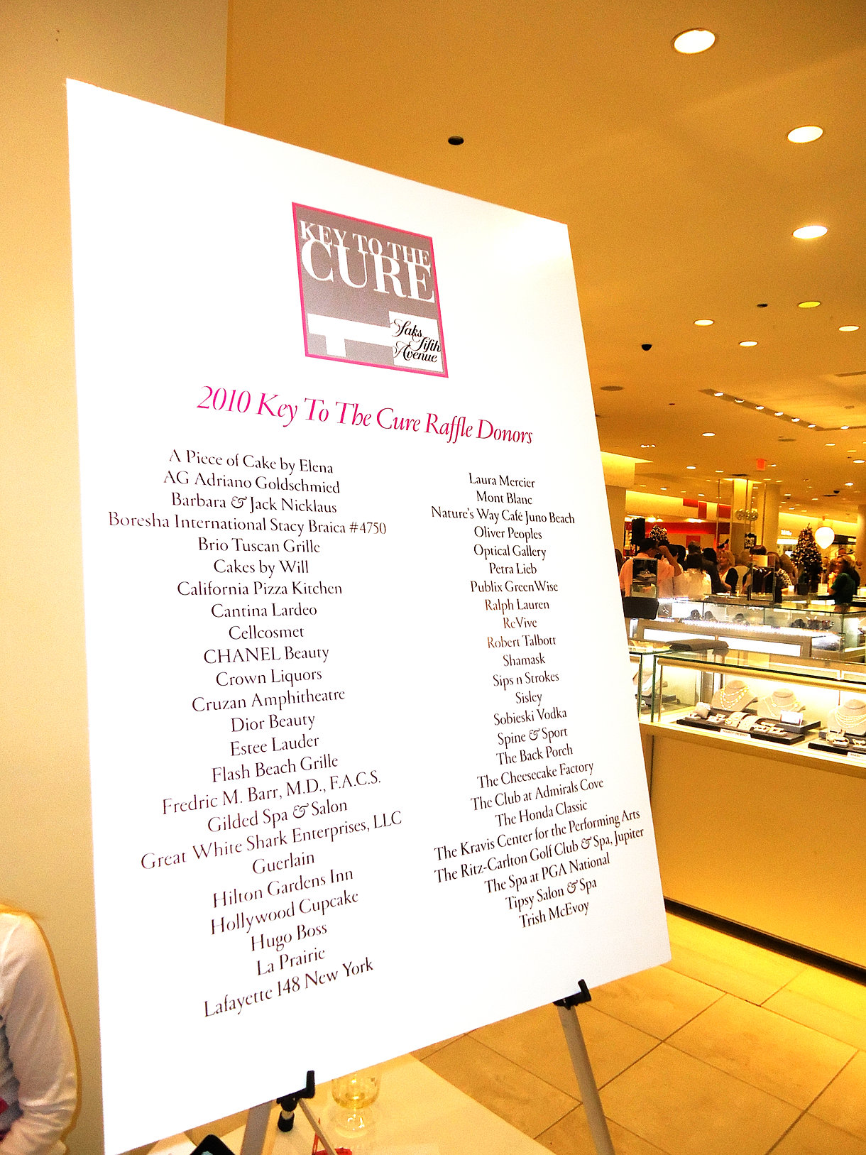 California Pizza Kitchen Palm Beach Gardens Philanthropy