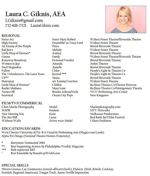 View my resume