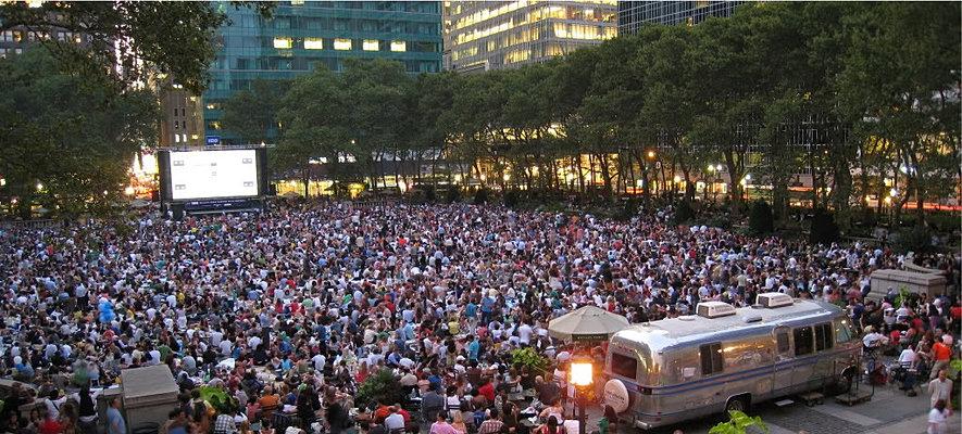 Bryant Park Summer Movie Festival