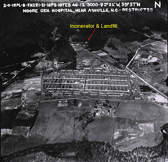 Landfill and Incinerator Remediation Map