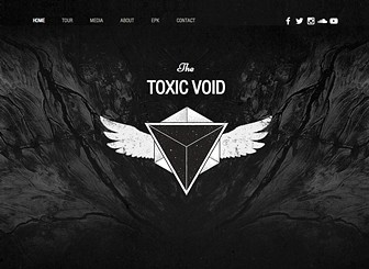 Rock Music Template - Transfer the atmosphere of your rock band with this grungy and engaging website template. Wix Wix Music, you can easily upload your latest tracks for fans to listen to and download in just a few easy steps. You can also track all your music stats, including sales, downloads and shares for free! Start editing now to rock the music world!
