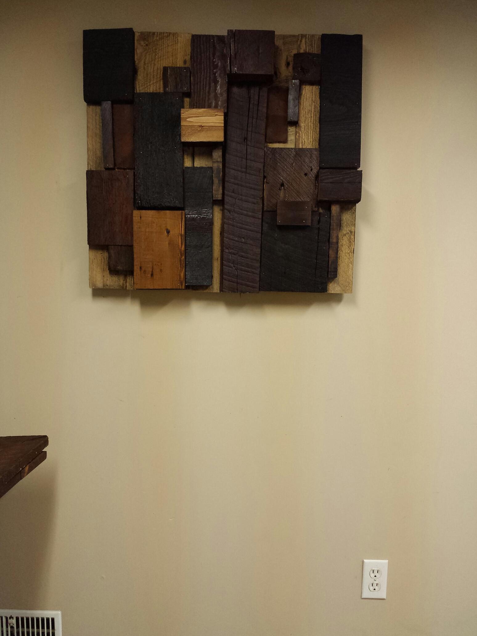 Rustik bois de grange et ancien mobiliers et d corations - Decoration en bois murale ...