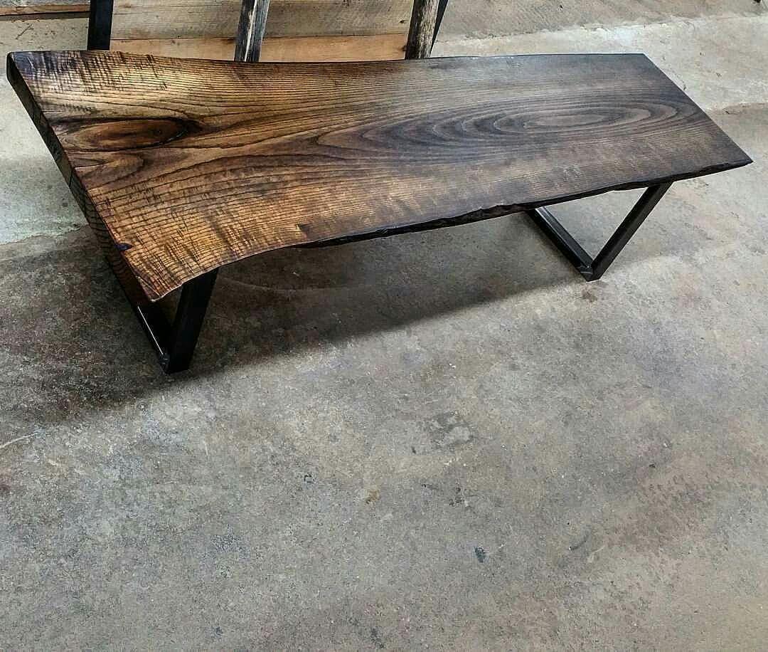 Rustik bois de grange mobiliers en bois massif haut de gamme table de sal - Patte de table metal ...