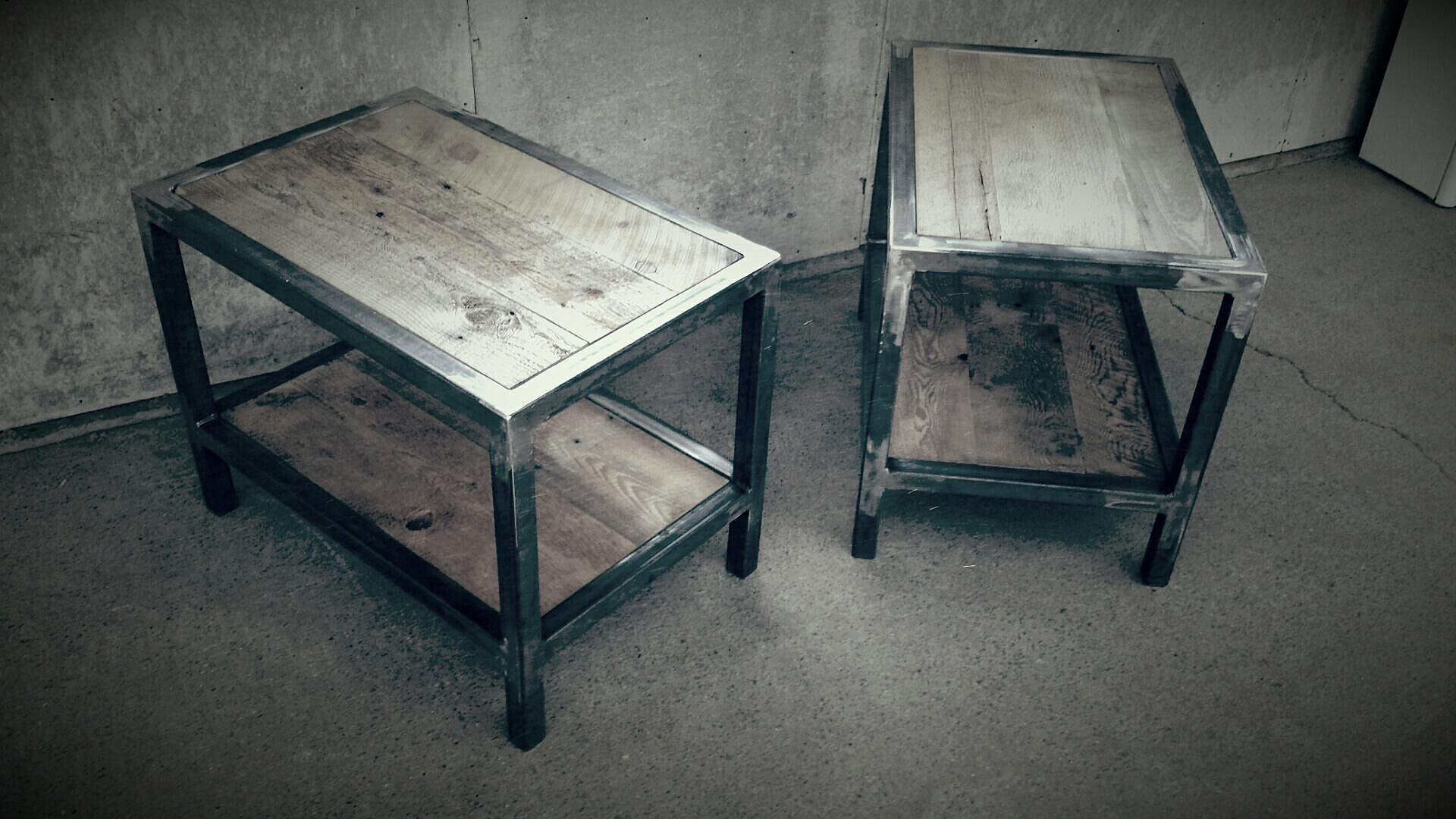 rustik bois de grange mobiliers et d corations 100 personnalisable tables de chevets. Black Bedroom Furniture Sets. Home Design Ideas