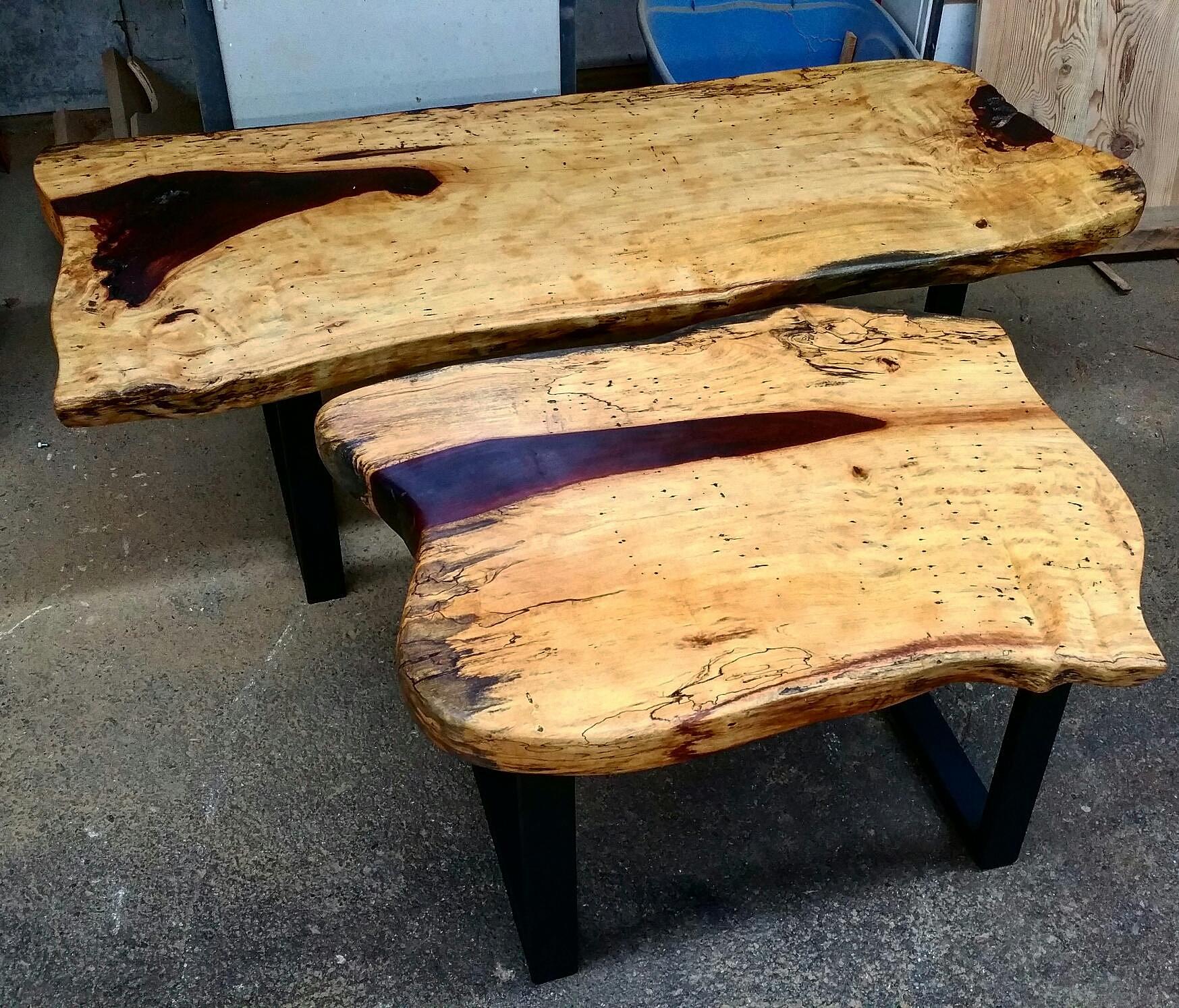 Rustik bois de grange qualit et service toute preuve - Table en buche de bois ...