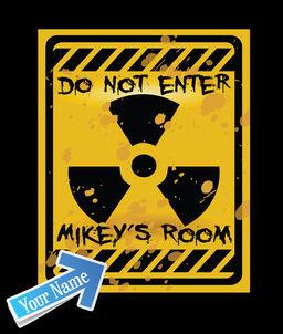 Do Not Enter Sign For Kids