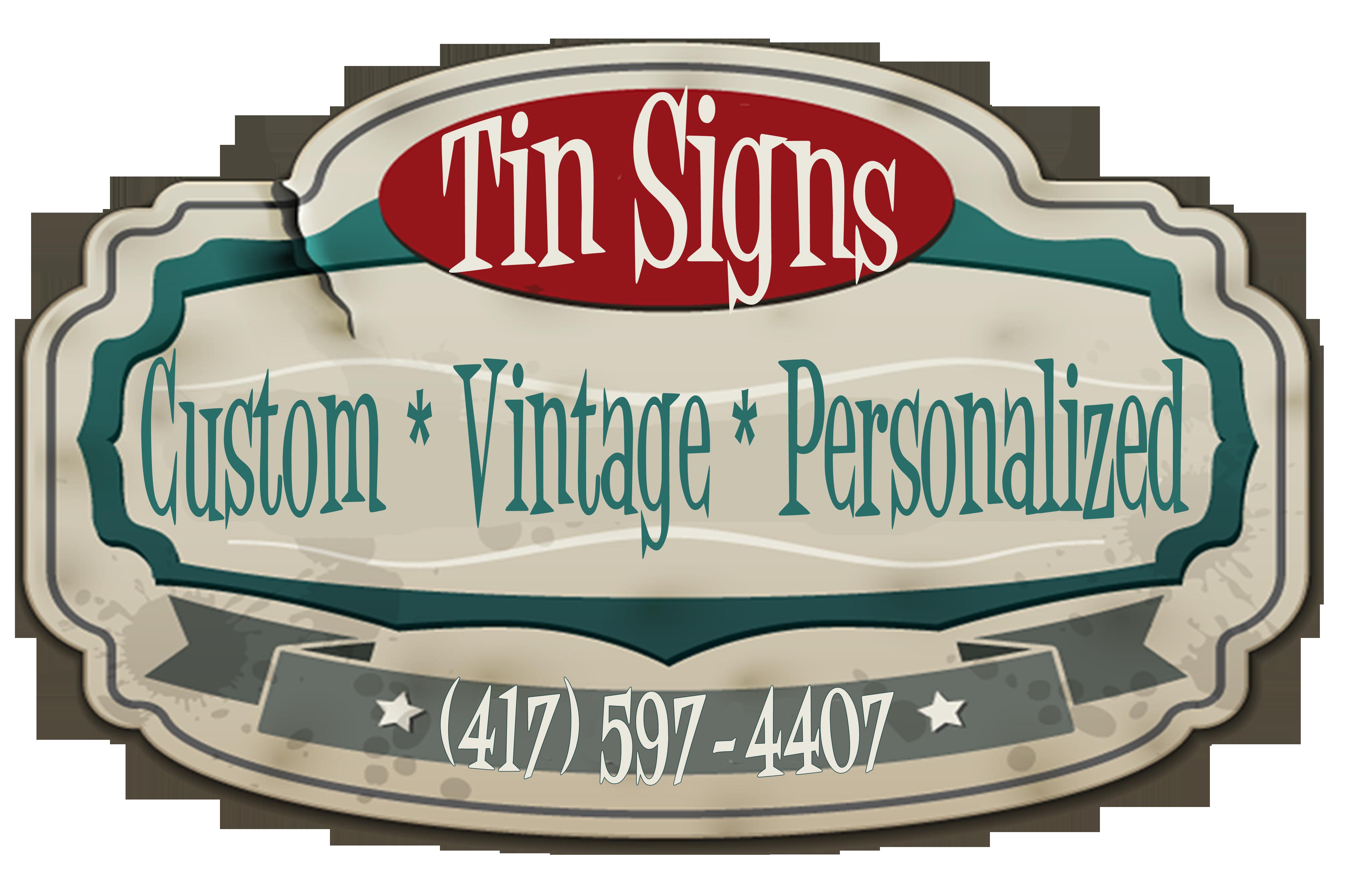 custom tin signs vintage tin signs retro tin signs. Black Bedroom Furniture Sets. Home Design Ideas