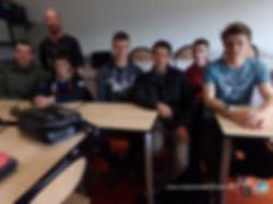 Cours théorique au permis bateau Lycée Pierre Guéguen 1° maintenance nautique OLM Permis Bateau