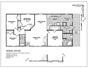 Oak creek homes model 2306