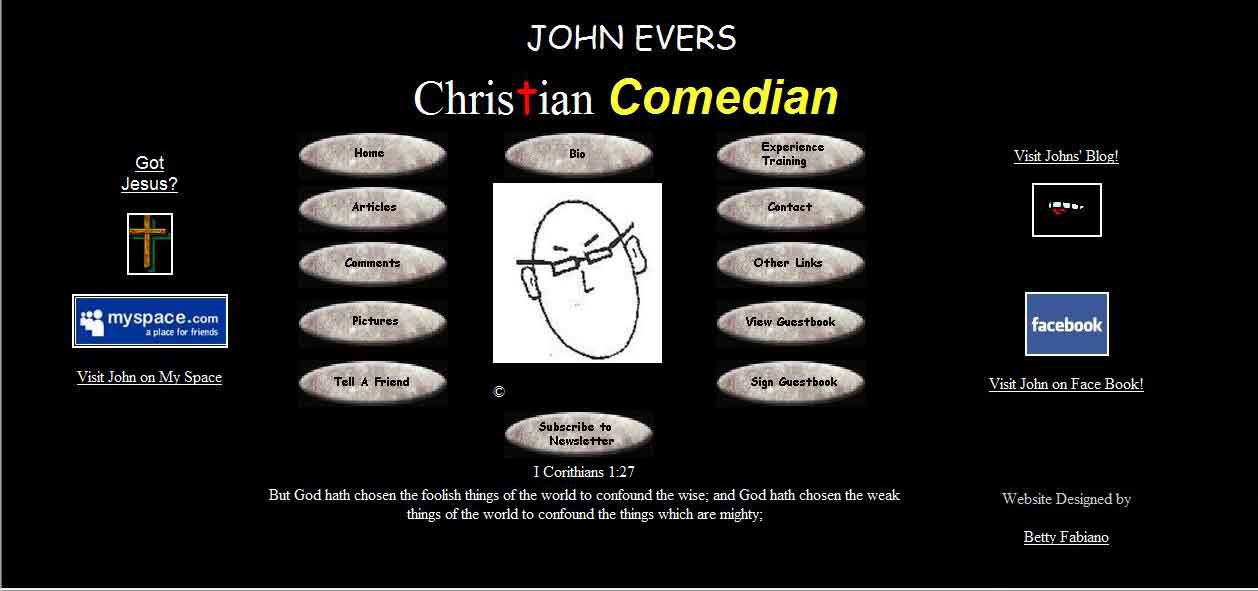 John Evers-Christiam Comedian