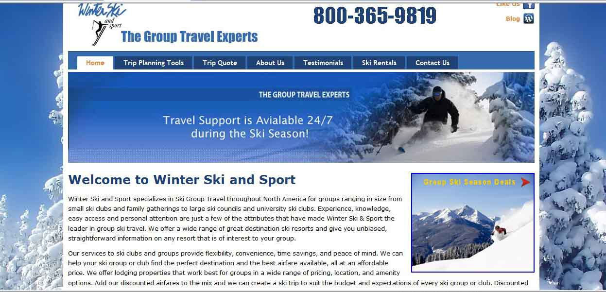 Winter Ski  and Sport