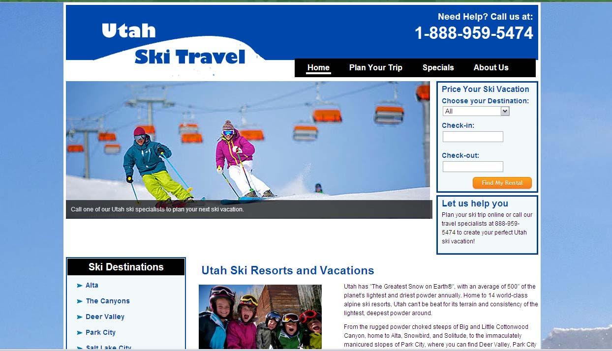 Utah Ski Travel