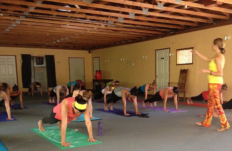 Yoga High Plank