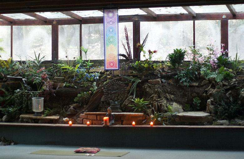 The yoga temple