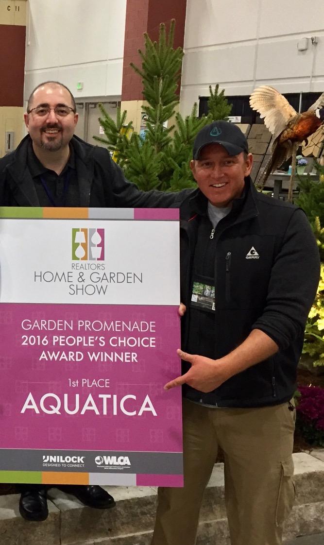 Aquatica Takes 1st Place Peopleu0027s Choice Award At The Realtoru0027s Home U0026 Garden  Show | Aquatica Ponds, Water Gardens, Install U0026 Koi Ponds Waukesha Wisconsin