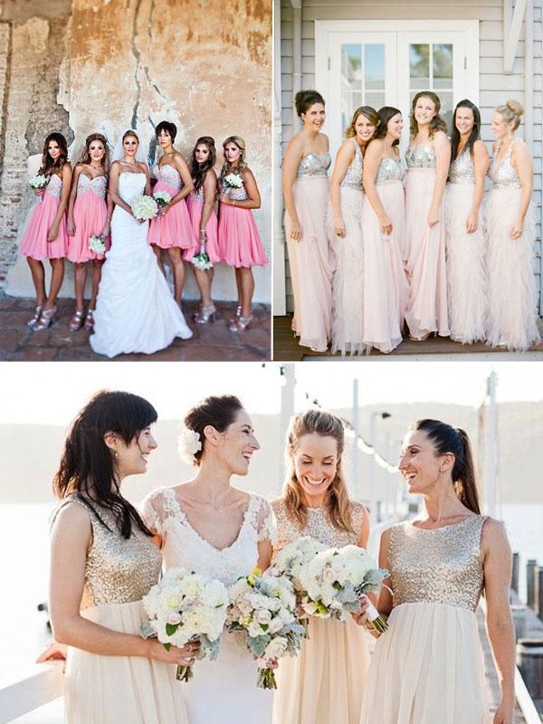 Two Tone Bridesmaid Dresses Trend 2017 Dressesmall Formal Website
