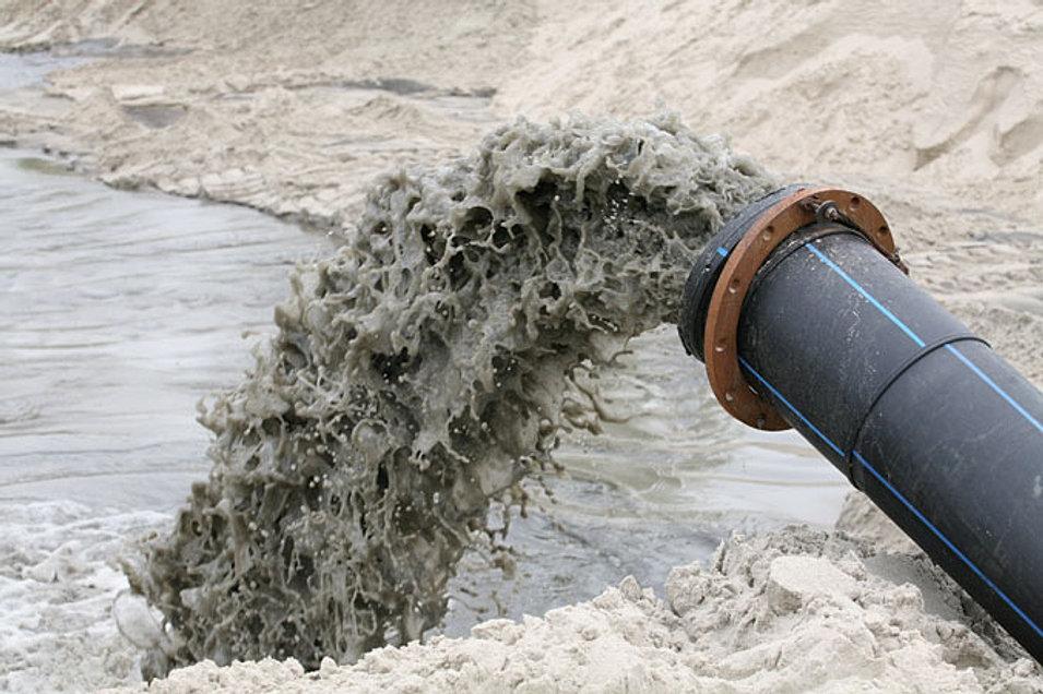 Как намыть песок из реки
