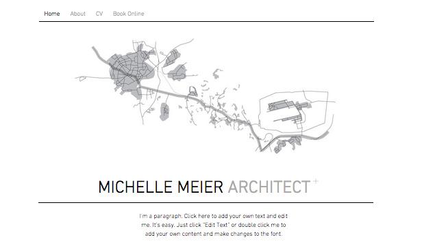 Portfolio Architecte