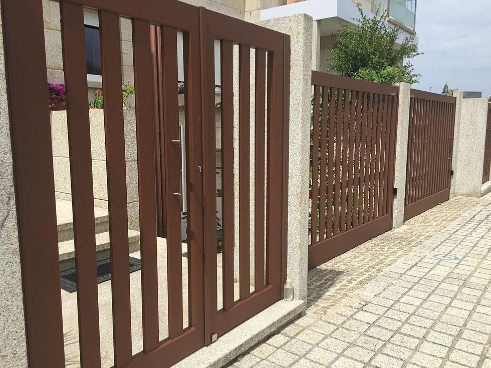 Puertas correderas para fincas precios