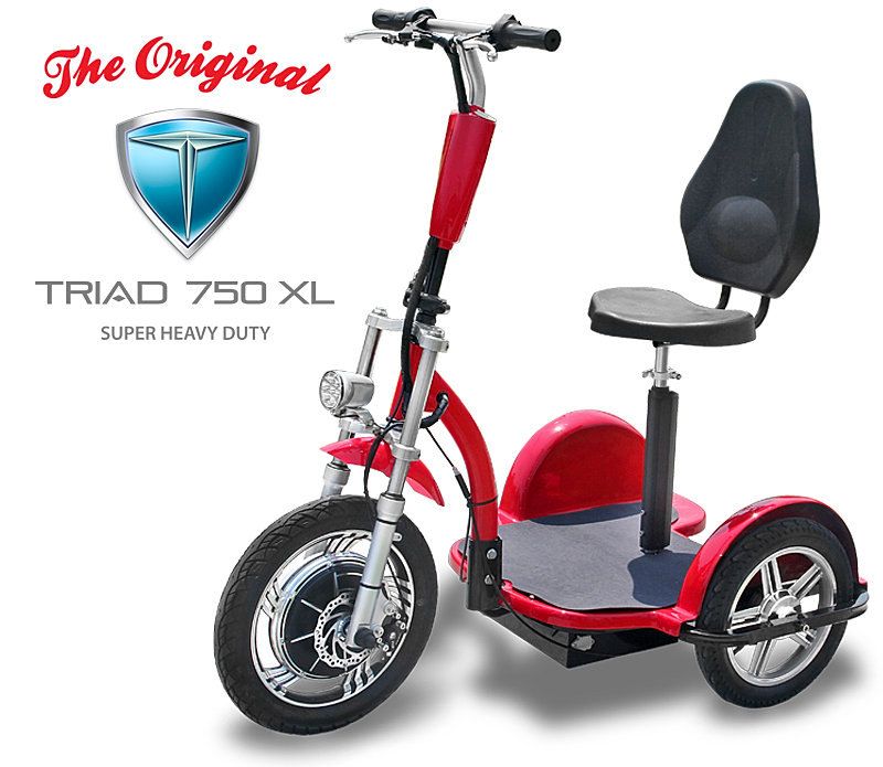Mobility Scooters For Sale >> 3-wheel-scooters | Triad 750 XL Heavy Duty