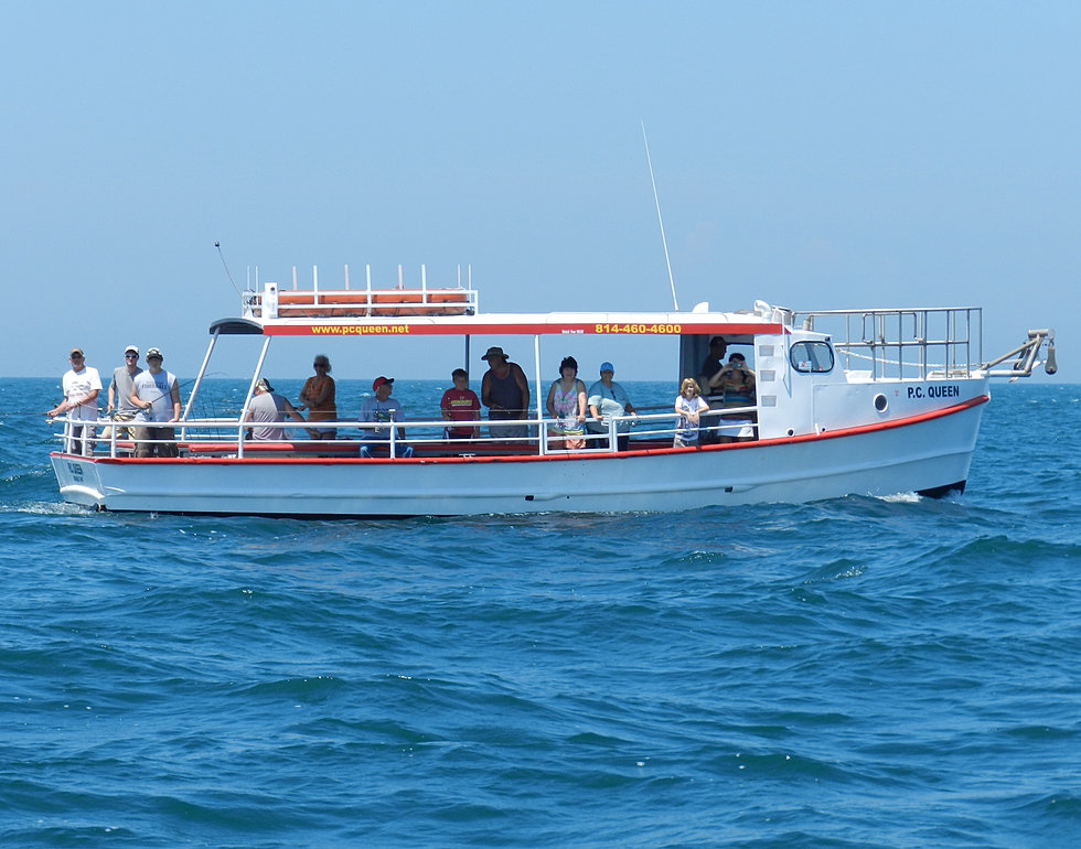 Walk on perch fishing party boat on lake erie perch for Lake erie perch fishing charters