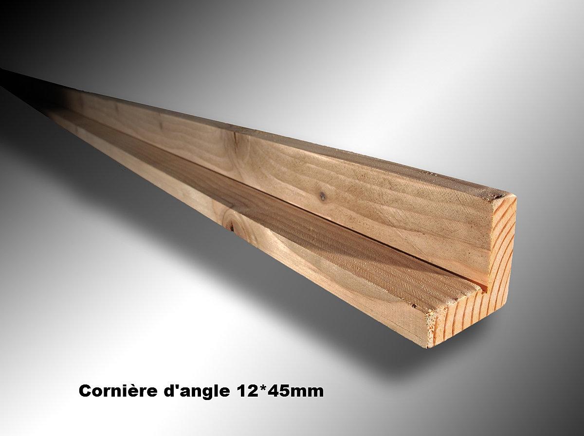 Ambiance Bois en Limousin Corni u00e8re d'angle 12 x 45 mm douglas hors aubier pour bardage mél u00e8ze  # Angle Bardage Bois
