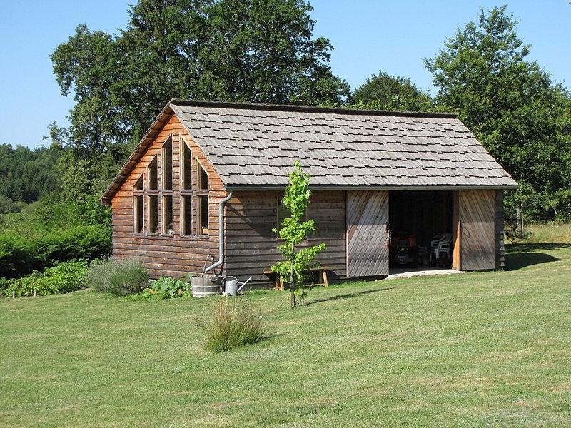 Ambiance Bois En Limousin Cabane De Jardin M L Ze Et Douglas