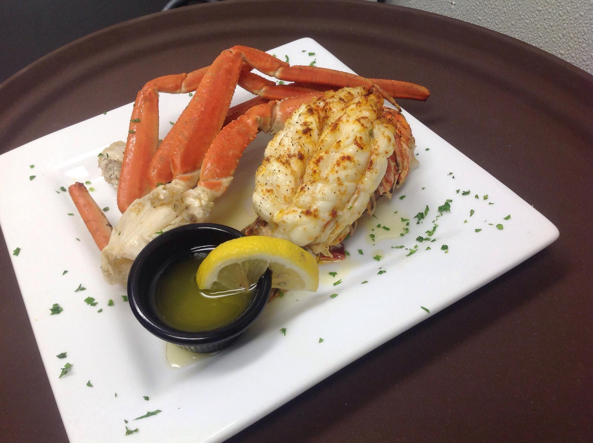 Flames Seafood | Crab legs and Lobster Tail