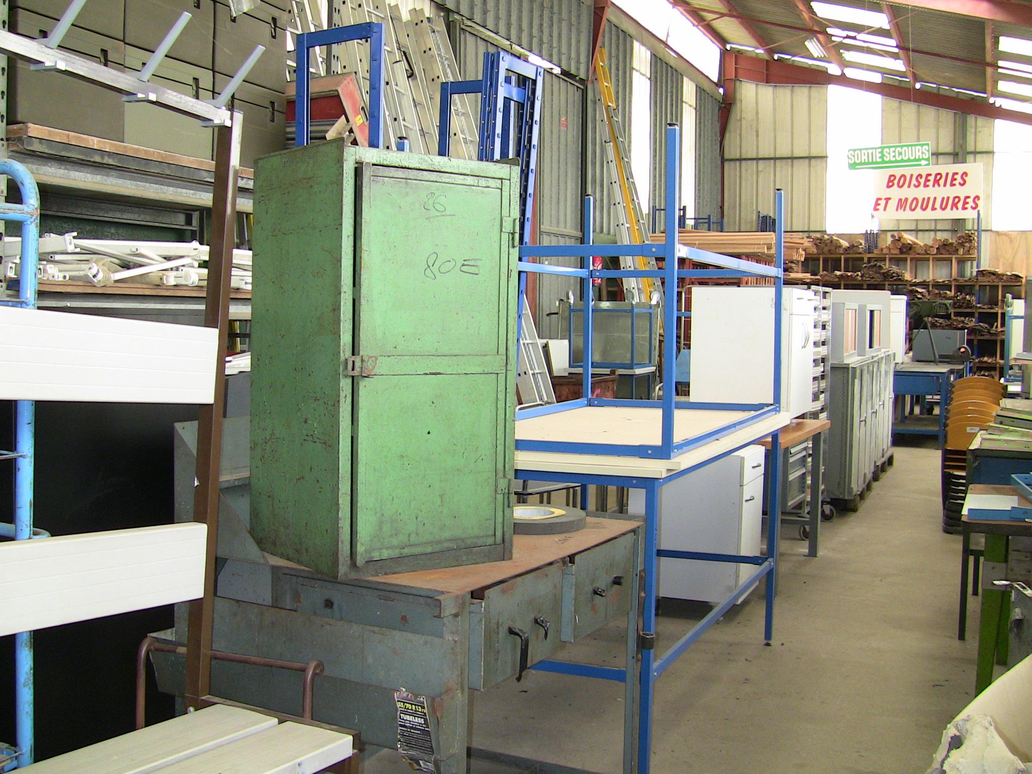 Bgf 61 brocante industrielle de glos la ferri re mobilier industriel - La brocante industrielle ...