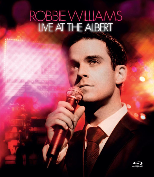 ROBBIE WILLIAMS Live At The Albert 2001 2007 It