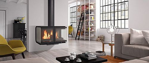 Eco fire stoves home page for Garden rooms rocal