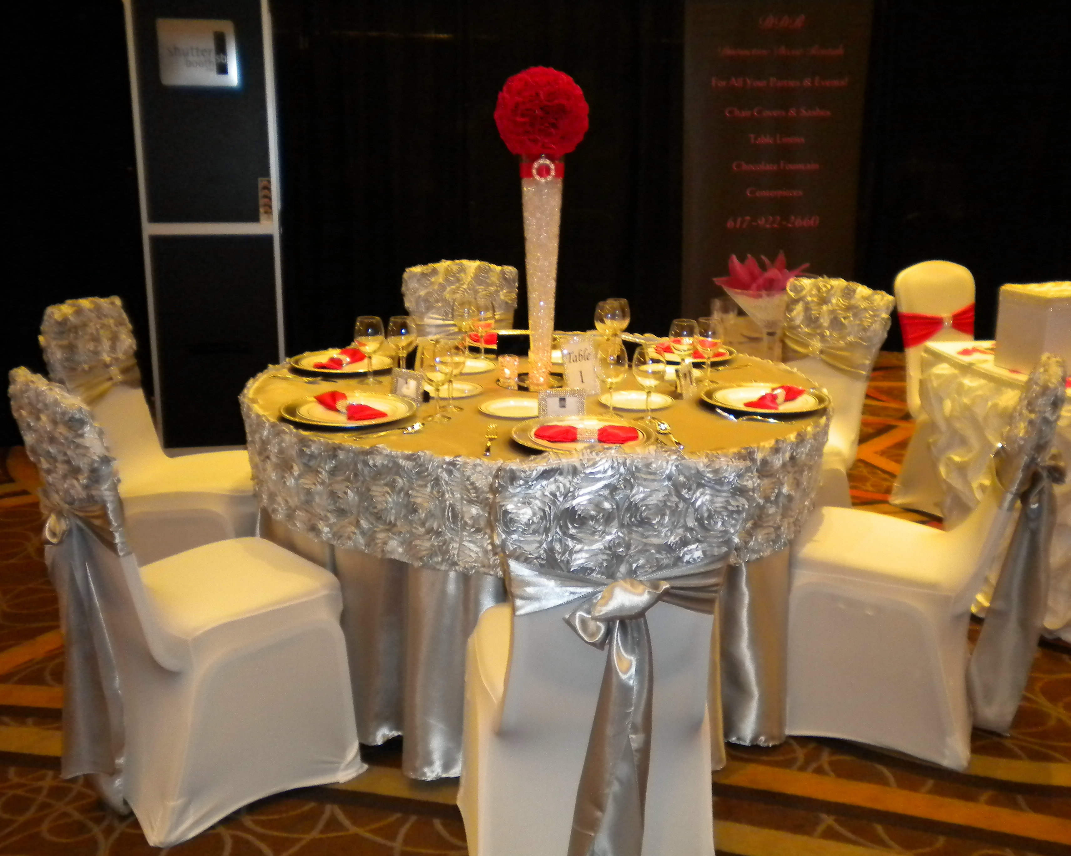 Distinctive Decor Rentals For All Your Parties & Events | Rosette