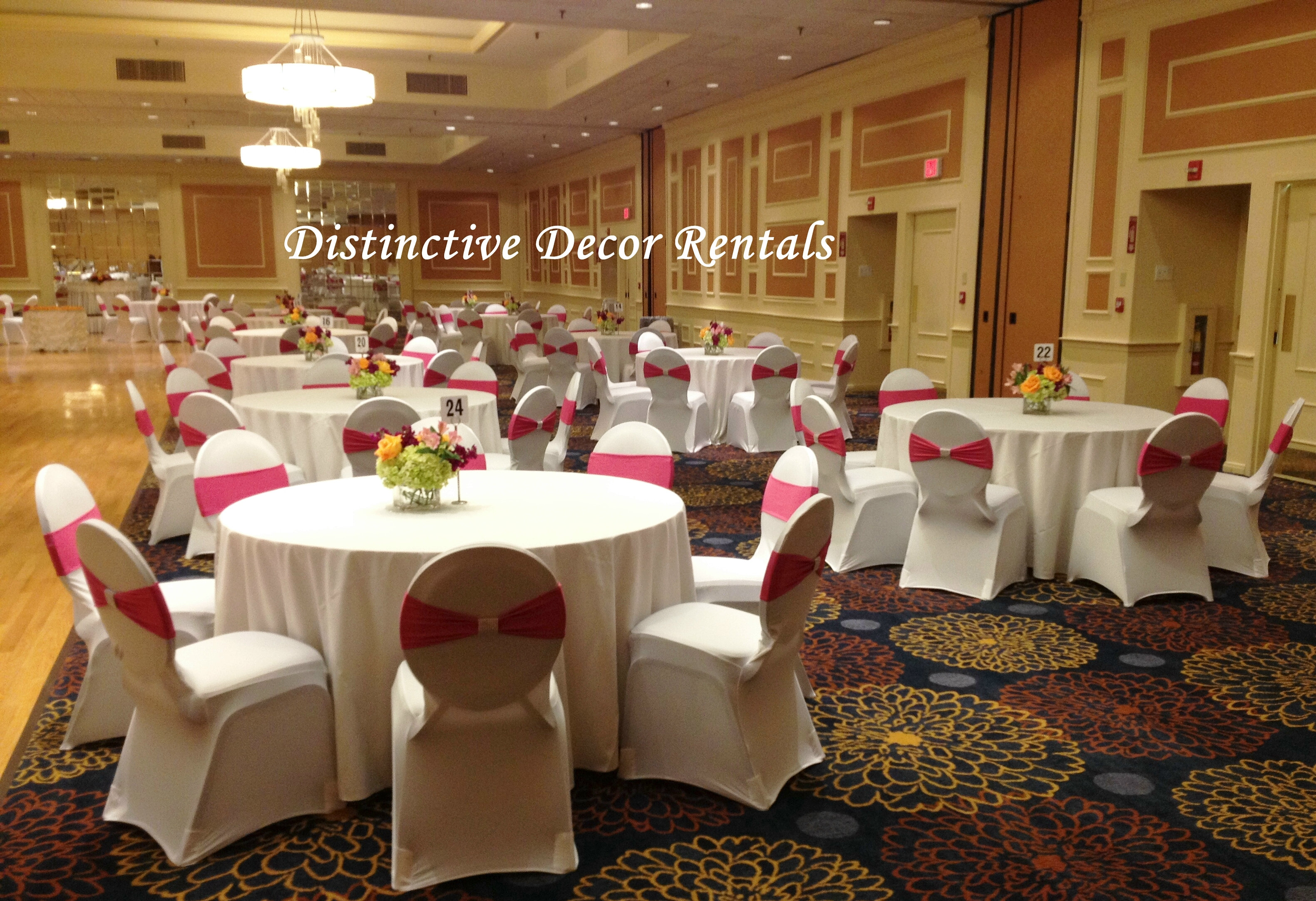 Distinctive Decor Rentals Celebrity Events Home Stretch Chair Covers Chair Bands