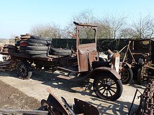 1925 Flat Bed Ton Truck