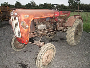 Massey Ferguson Model 21 Tractor