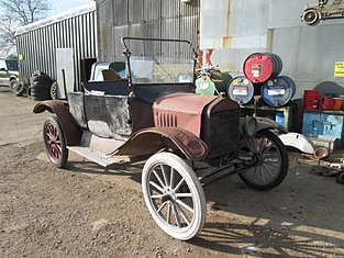 1917 RHD Tourer