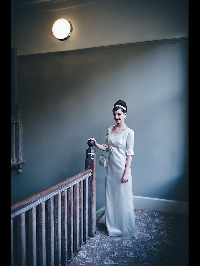 Vyn Johns vintage wedding dresses and sheffield wedding dress shop.