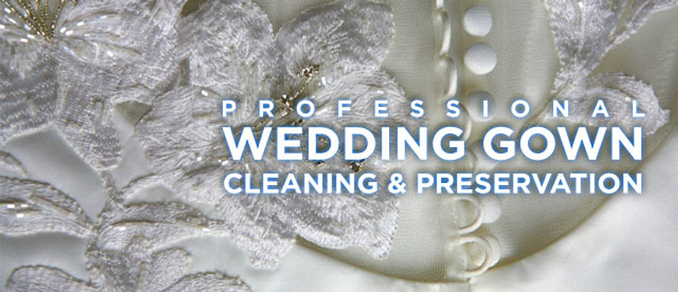 Cottage cleaners for Professional wedding dress cleaning