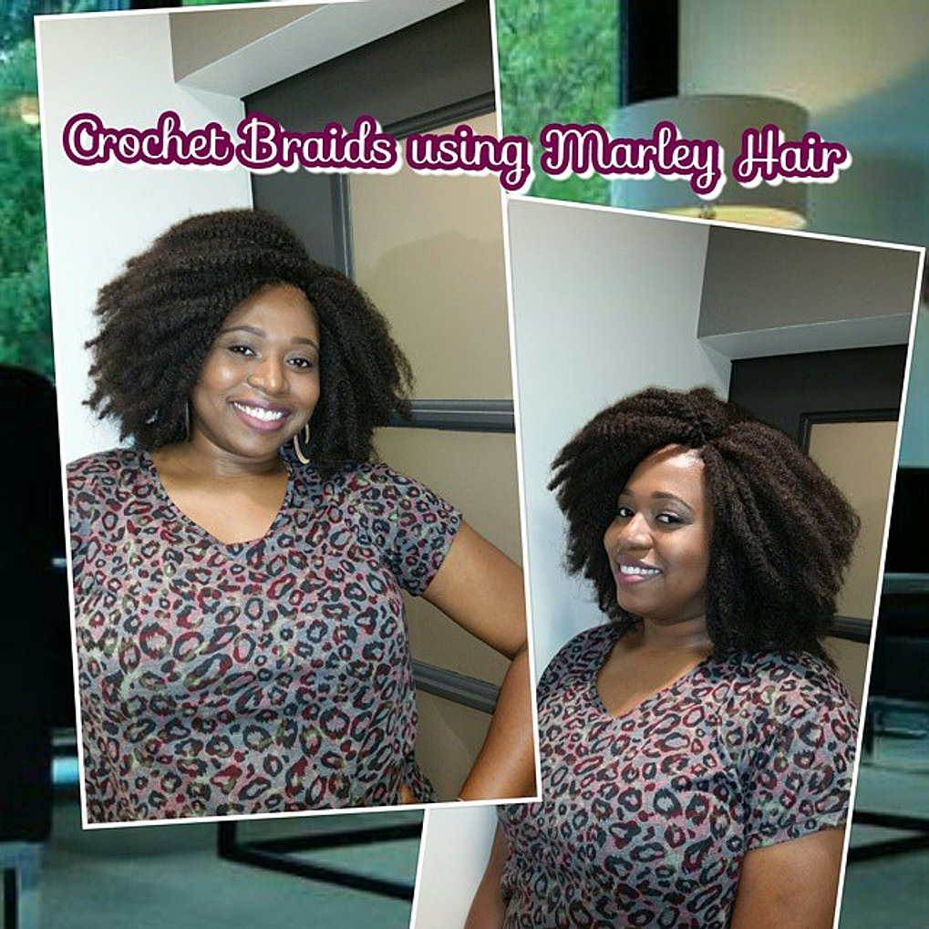 Crochet Hair Raleigh Nc : ... Crochet Braids using Marley Hair #salonchicraleigh #crochet #braids