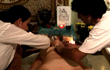 Sattva Tantra Brazil four hands tantric massage BH RIO SP