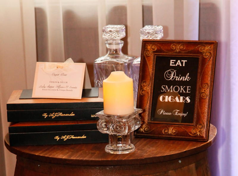 Add a smoking Cigar Bar to your wedding. | Event Rentals | Simsbury ...