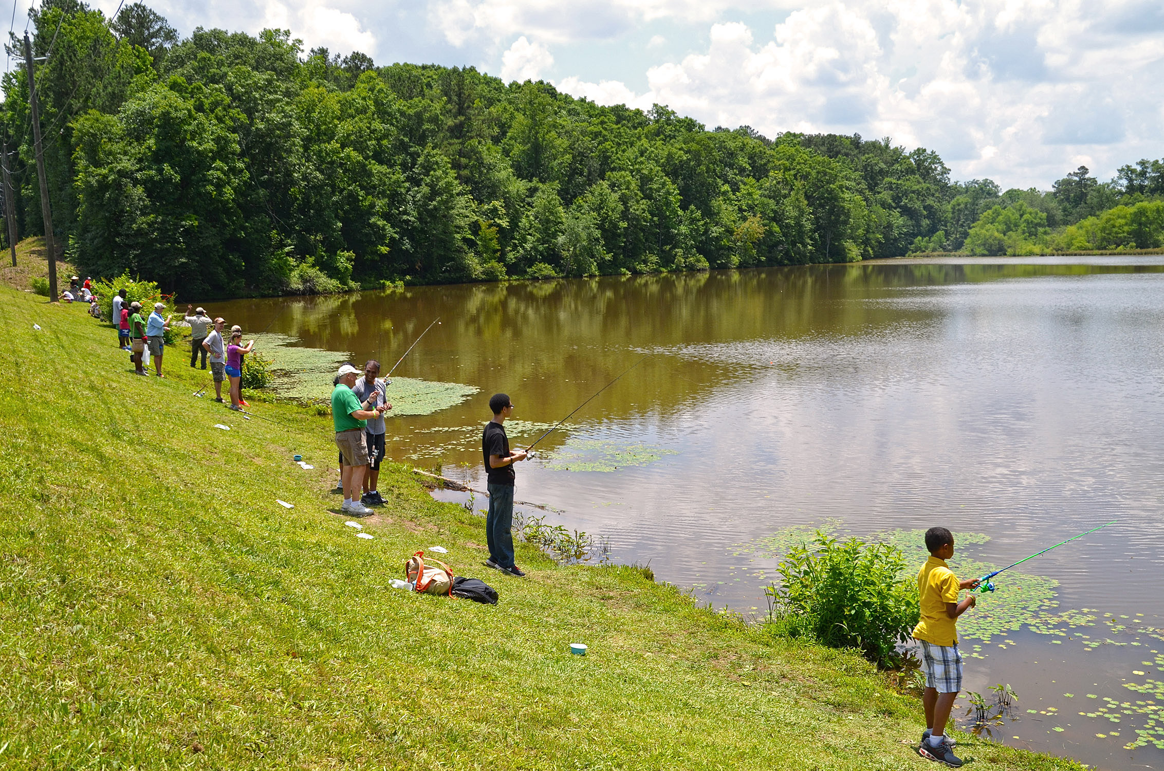 great outdoors month atlanta fishing