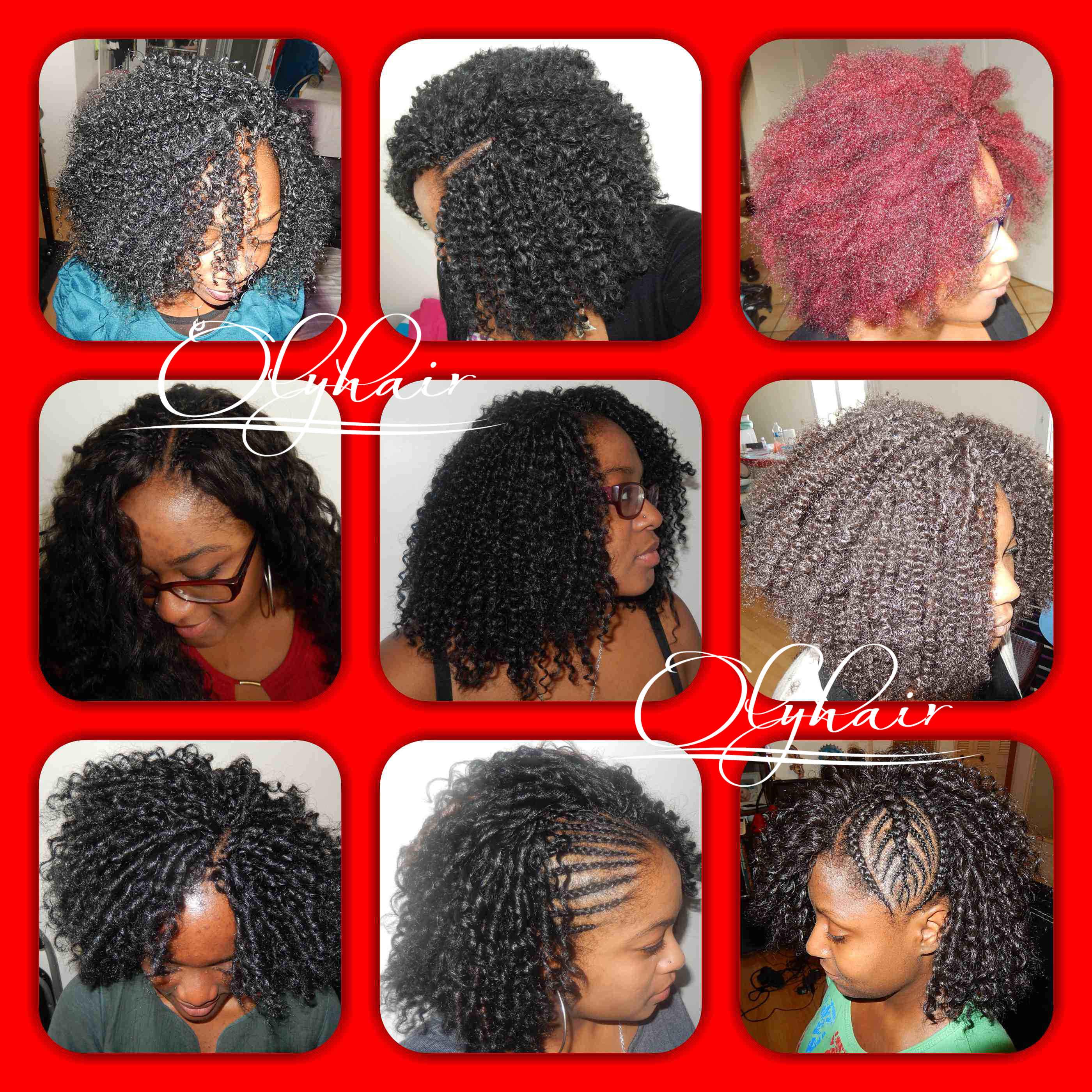 Crochet braids olyhair id e coiffure et conseil pour - Meche naturelle pour crochet braid ...