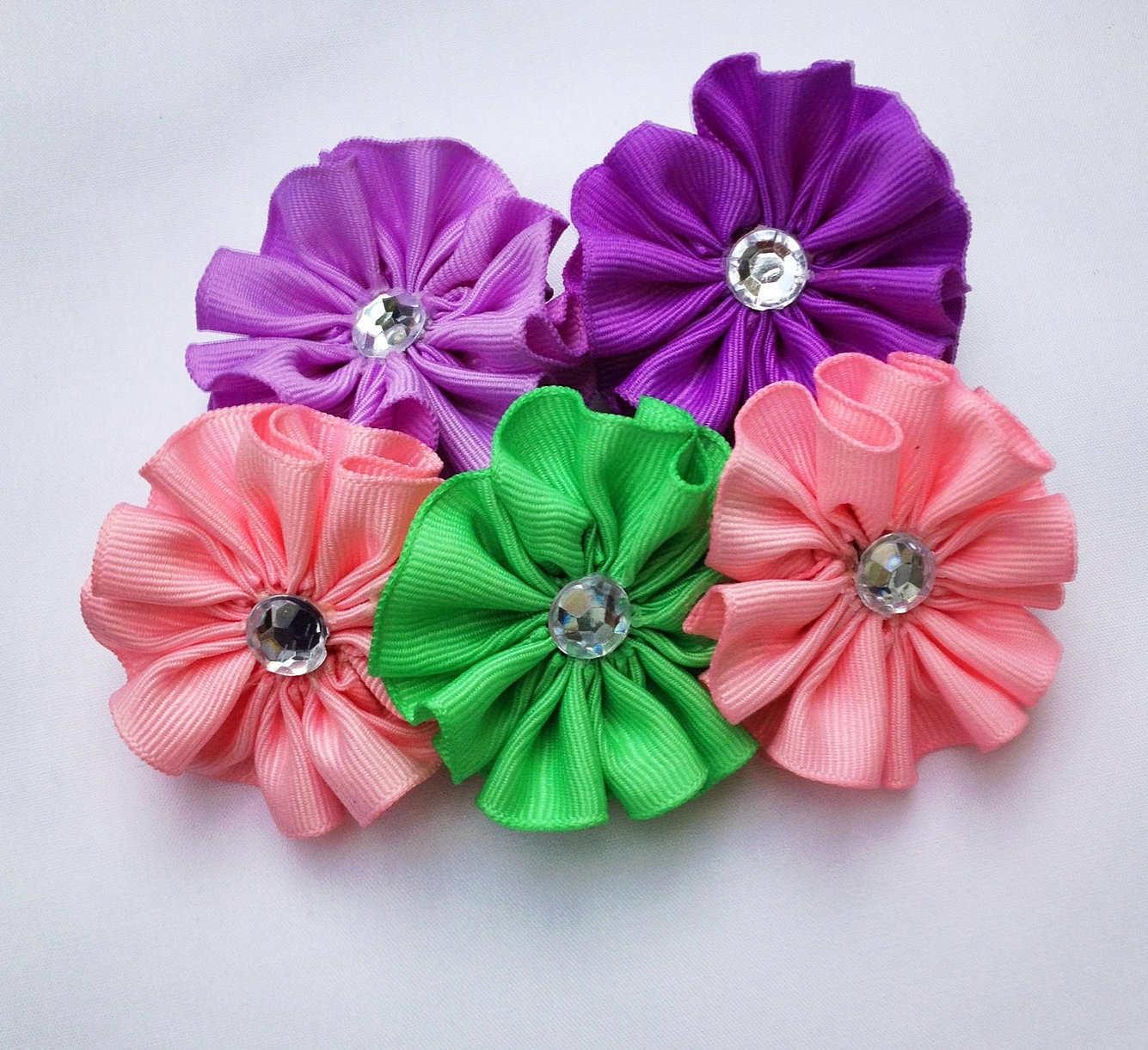 Fake Flowers For Hair Bows 85