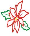 logo flor de nochebuena