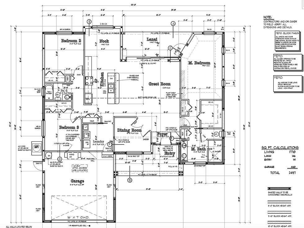Kevin combs homes construction remodeling your home for National homes corporation floor plans