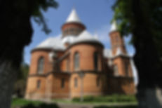 The magnificent baroque Armenian church