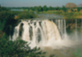 Blue Nile Falls known locally as Tis Isat (water that smokes), located south east of Bahir Dar