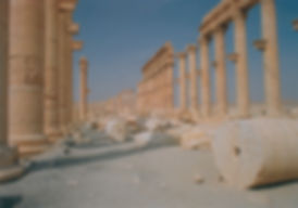 Ancient Roman city of Palmyra once an important link on the Great Silk Rd connecting China to Europe
